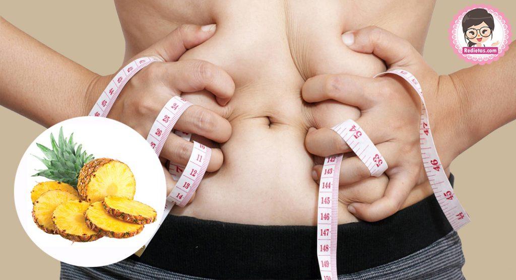 dieta de la piña para bajar de peso rapido